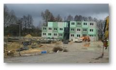Brookdeich, Flüchtlinge, Containerdorf