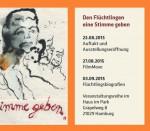Bergedorf, Flüchtlinge, Stimme geben, Blog, HeidivomLande, Veranstaltung, Regionale Tipps