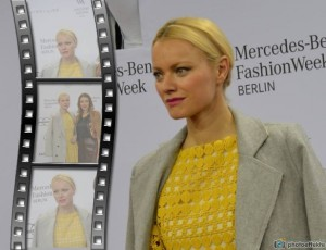 Franziska Knuppe, Bergedorf,  Berlin Fashion week, Bergedorf Blog, Heidi vom Lande, Roter Teppich, Mercedes Benz Fashion Week, Videos, Fotos, Mode, Glamour, Stars, Promis, Show, Mode, Brandenburger Tor, Berlin, Fashion, Highlights, Style-Check, roter Teppich, Promis, Stars, Red Carpet, Modell