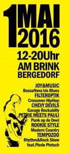 Am Brink, Flohmarkt, Musik, Nachbarschaftsfest, Rock am Brink, Strassenfest