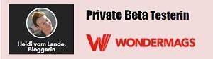 HeidivomLande, Bergedorf, der Bergedorfer Blog, Blogger, regionale Tipps, Veranstaltungen, Kultur, Musik, Events, Interviews, Krimi, Thriller, Touristeninformation, Sehenswürdigkeiten, Digitale Zeitschrift, Beta-Testerin, Wondermag, Software, Tool, E-Pub
