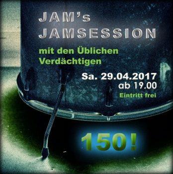 HeidivomLande, Bergedorf, 150. Jam Session