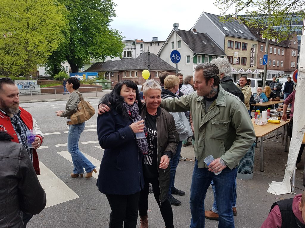 Heidi vom Lande, Der Blog aus und für Bergedorf, Hamburg, Straßenfest, Am Brink, Rock am Brink, Nachbarn, Spass, Feiern, 1. Mai 2017