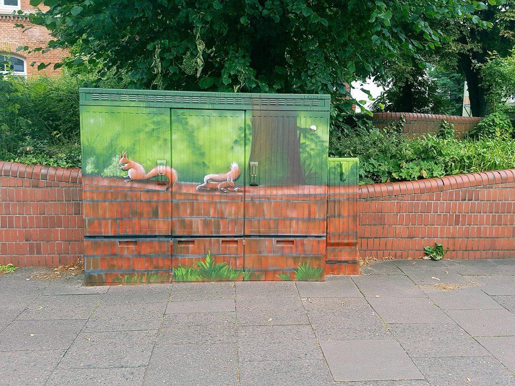 Graffiti, Kreativität, Sprayer, Künstler, Stadtteil, Bergedorf, Hamburg, Streetart, Kunst, Mauer, Hauswand, verlassene Plätze, Bergedorf Blog