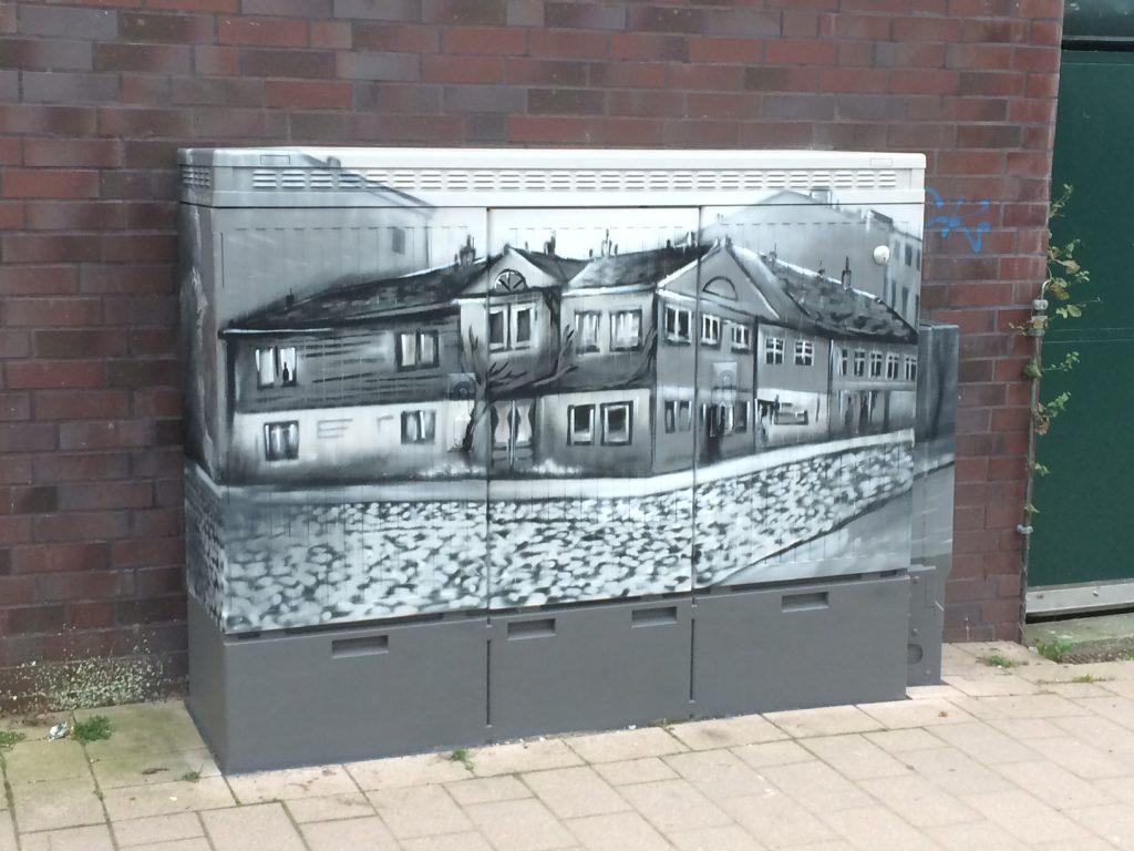 Graffiti, Kreativität, Sprayer, Künstler, Stadtteil, Bergedorf, Hamburg, Streetart, Kunst, Mauer, Hauswand, verlassene Plätze, Bergedorf Blog, Geschichts-Ag