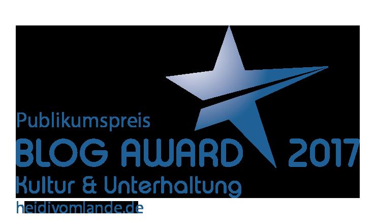 Kultur-Unterhaltung_Blog-Award-2017-Publikumspreis, Heidi vom Lande, HEIDI VOM LANDE, Blog, Bergedorf Blog, der Blog aus und für Bergedorf, Hamburg, Bloggerin