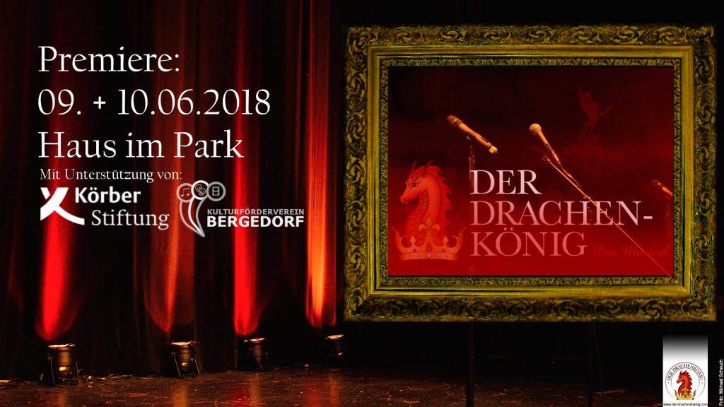 Der Drachenkönig, Musical, Bergedorf, Heidi vom Lande, Blog aus und für Bergedorf, Vereinsgründung, Kulturförderverein Bergedorf, Christian Braubach