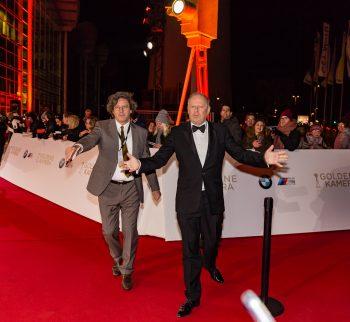 Axel Millberg, Goldene Kamera, 2018, Funke Mediengruppe, Gala, Musik, Schauspieler, TV, Serie, Verleihung, Preisträger, Fernsehfilm, Trophäe, gold, Hamburg