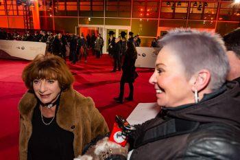 Hannelore Hoger, Goldene Kamera, 2018, Funke Mediengruppe, Gala, Musik, Schauspieler, TV, Serie, Verleihung, Preisträger, Fernsehfilm, Trophäe, gold, Hamburg