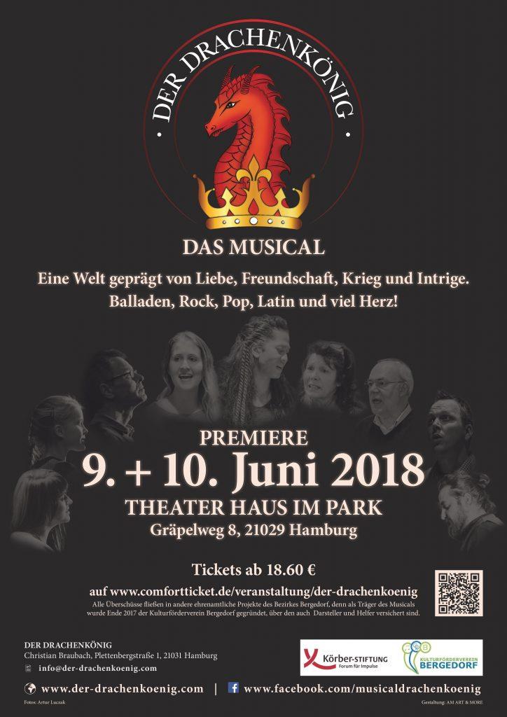 Musical, Bergedorf, Musikaufführung, Theater Haus im Park, Christian Braubach, Komponist, Darsteller, Ticketverkauf, Aufführung, Premiere, Hamburg