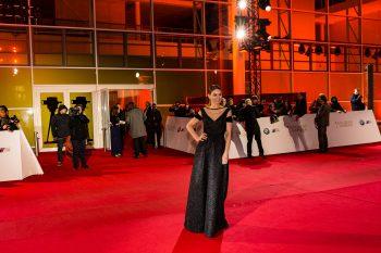 Comedian, Martina Hill, Goldene Kamera, 2018, Funke Mediengruppe, Gala, Musik, Schauspieler, TV, Serie, Verleihung, Preisträger, Fernsehfilm, Trophäe, gold, Hamburg