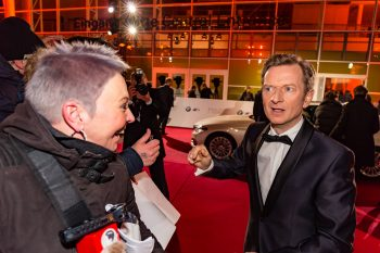 Goldene Kamera, 2018, Funke Mediengruppe, Gala, Musik, Schauspieler, TV, Serie, Verleihung, Preisträger, Fernsehfilm, Trophäe, gold, Hamburg, Michael Kessler, Comedian