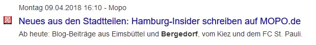 MOPO Insider, Mopo Insider, Hamburger Morgenpost, HEIDI VOM LANDE, Heidi vom Lande, Bergedorf, Blog, News, Regionales, Fashion, Musik, tagesaktuell, Online-Journalistin
