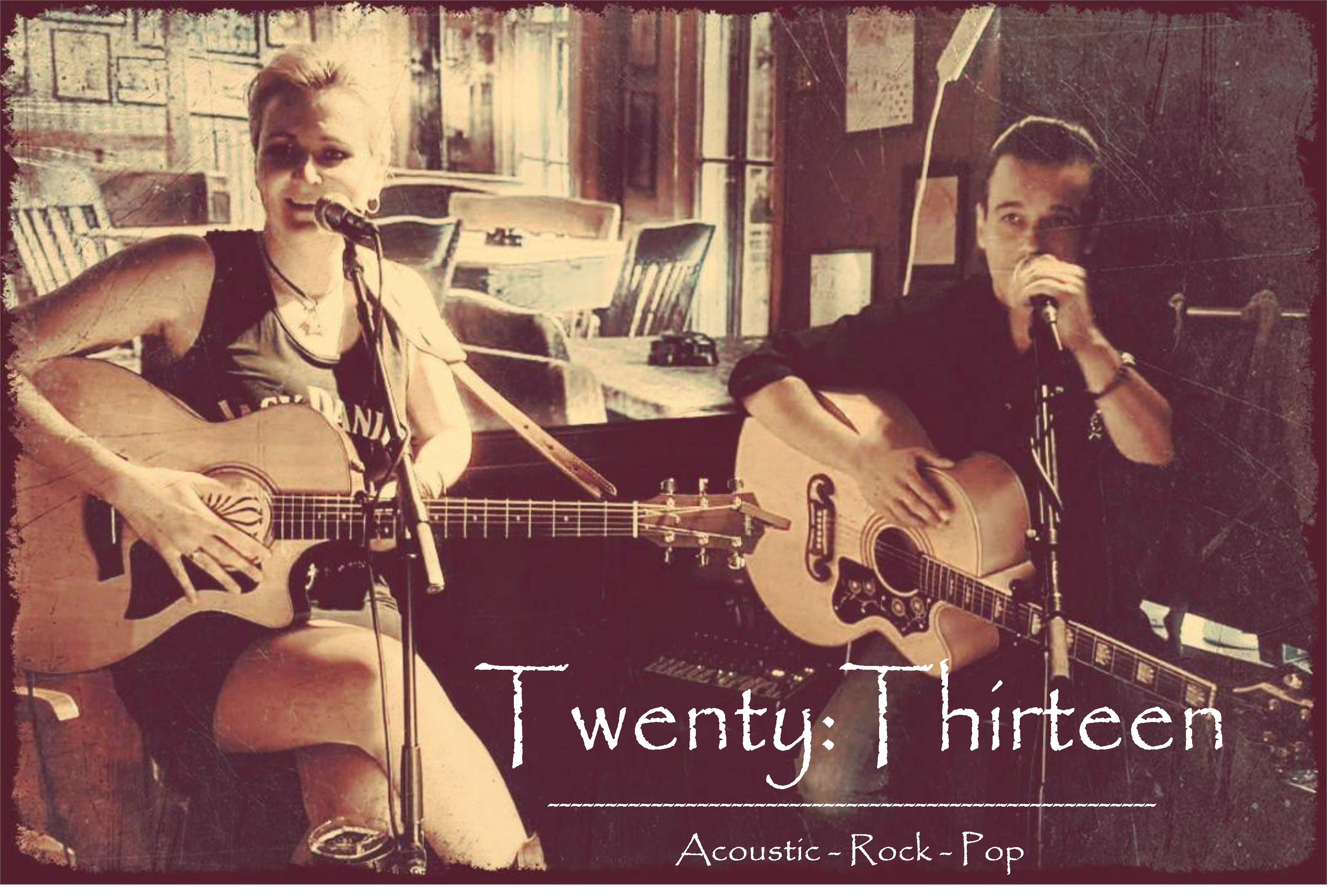 Twenty:Thirteen, Akustik, Duo, Cover-Songs, Personal Jesus-Version, Berlin, Musiktipp, Newcomer, Band, Musik, Musiker, Gitarre