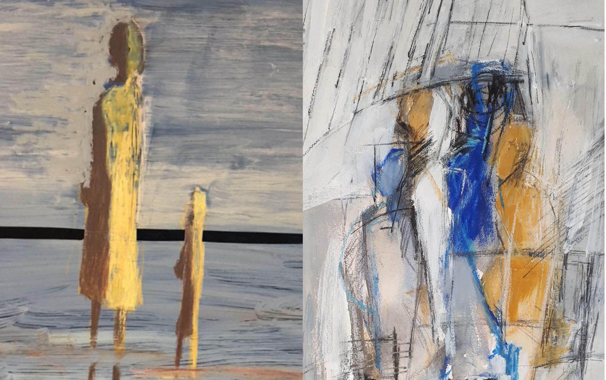 Ausstellung, Bilder, Kunst, Foto, Bergedorf-Süd, Historischer Bahnhof, Regionaler Tipp, Karin Lieschke, Elke Pieprzyk, Bergedorfer Blog