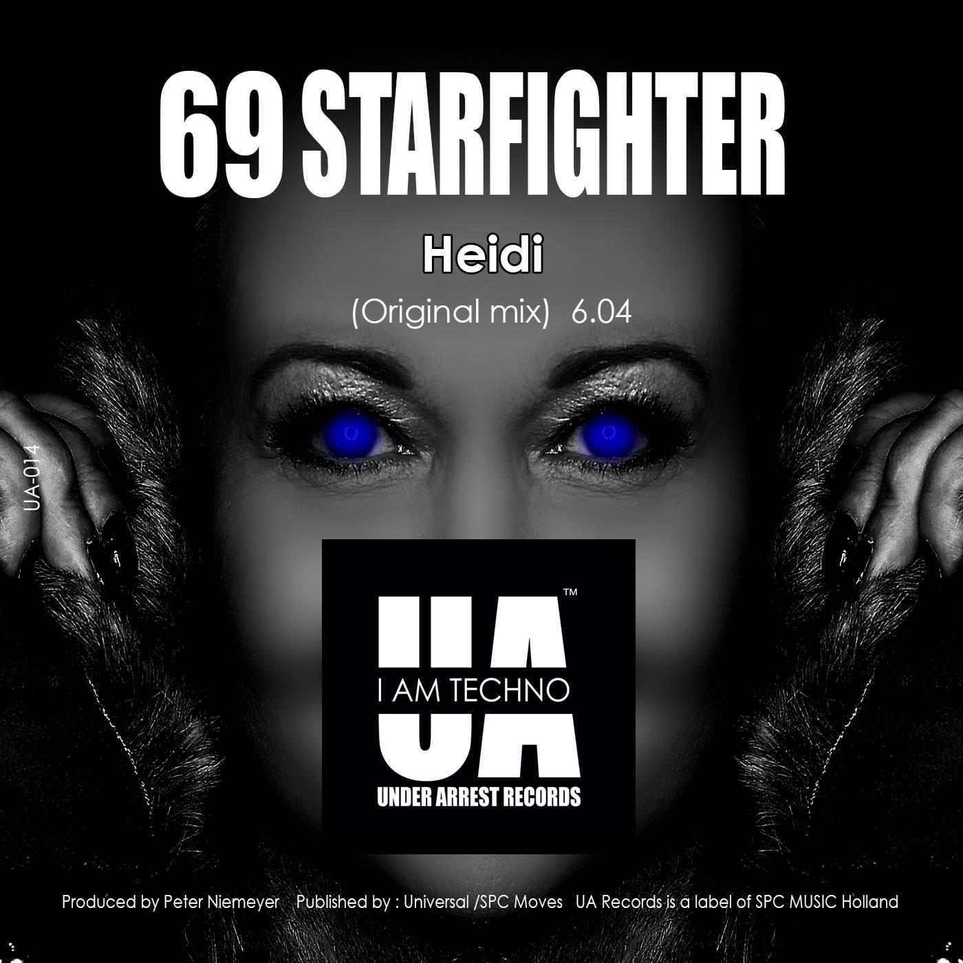 UA Records, Techno, Techno-Label, Amsterdam, Holland, 69 Starfighter, Under Arrest Records, Iam Techno, Dark Techno, 69 starfighter, Dona King, Cinema Airport, JANICE & JASON DREAMWALKER, Heidi vom Lande, Bloggerin, Techno-Gesicht, Album