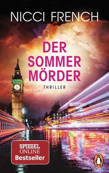 Buch, Thriller, Gewinnspiel, Der Sommermörder, Nicci French, Spiegel Bestseller, Gewinn, Lesen