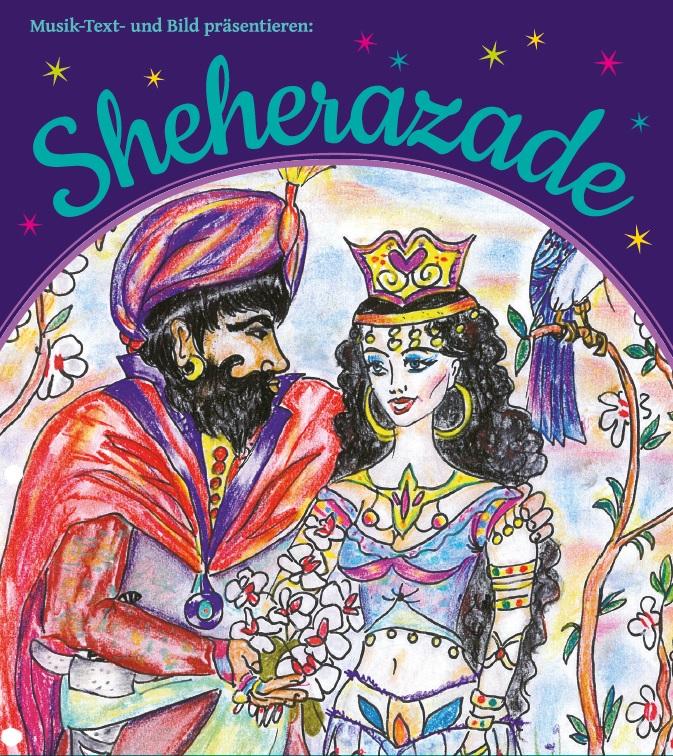 """Sheherazade, Hasse-Aula, Ensemble """"Musik-Text-Bild"""", persischen Geschichte, Märchenkonzert für Kinder, Bergedorf-Süd, Veranstaltung, Bergedorf News"""