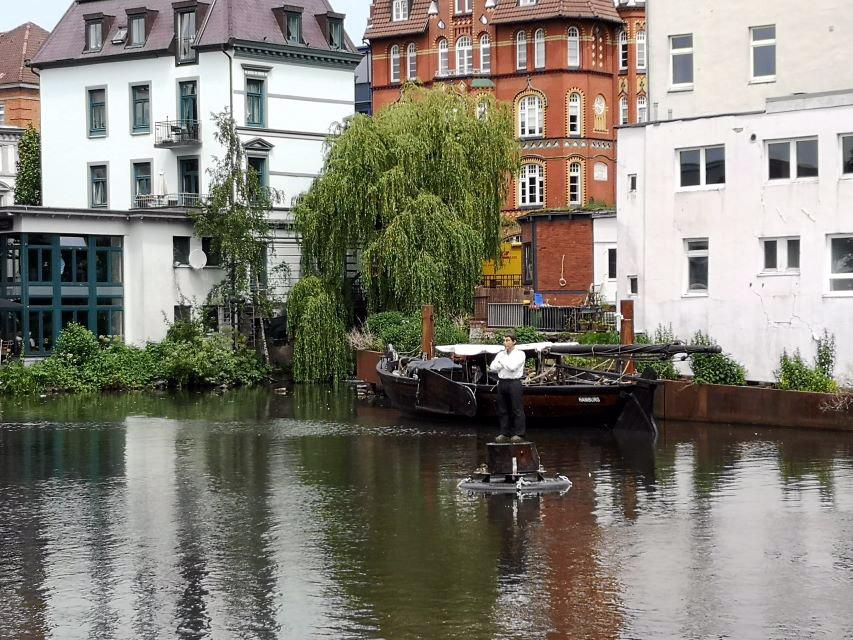 Bojenmann, Bergedorf, Hamburg, Serrahn, Elbe, Künstler, Stephan Balkenhol, Ausstellung, News, Nachrichten, Skulpturen