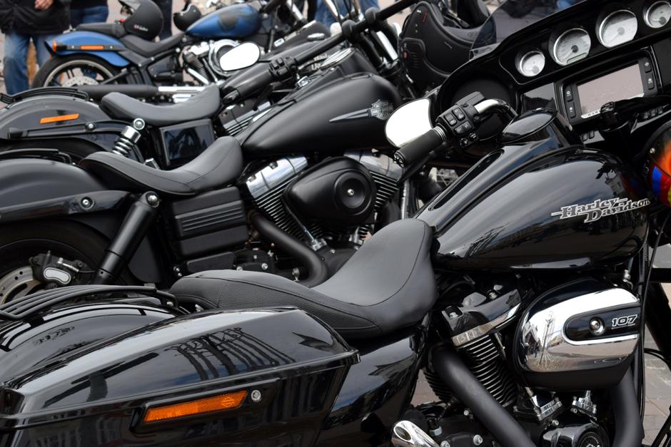 Biker for Freedom, gegen Fahrverbot an Sonn- und Feiertagen, Demo in Hamburg, Biker, Motorradfahrer, Motorrad, Lärm, Nachrichten, News, Reeperbahn, Kalle Haverland