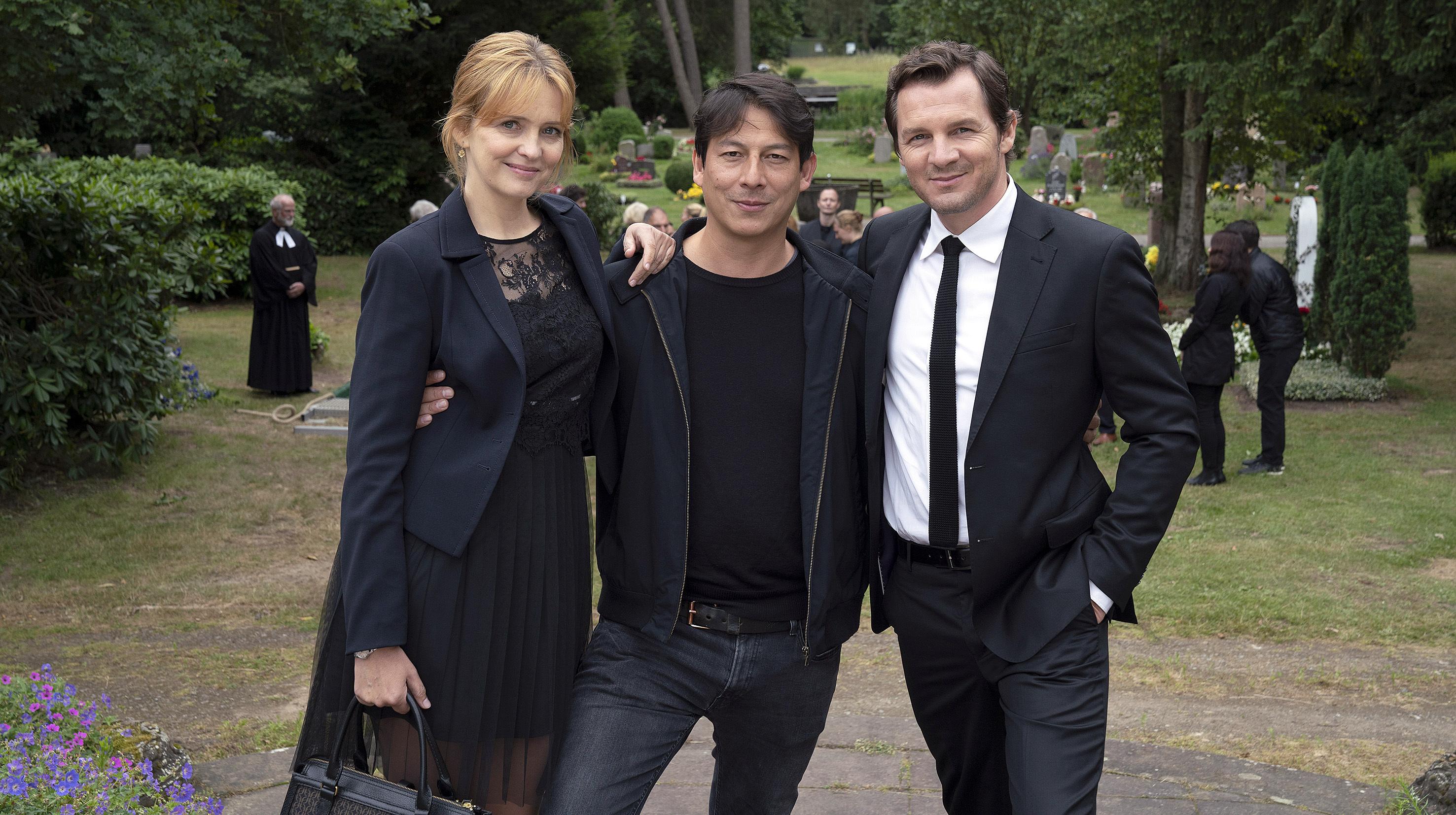 Dreharbeiten in Hamburg: NDR Thriller-Drama mit Laura Tonke und Felix Klare