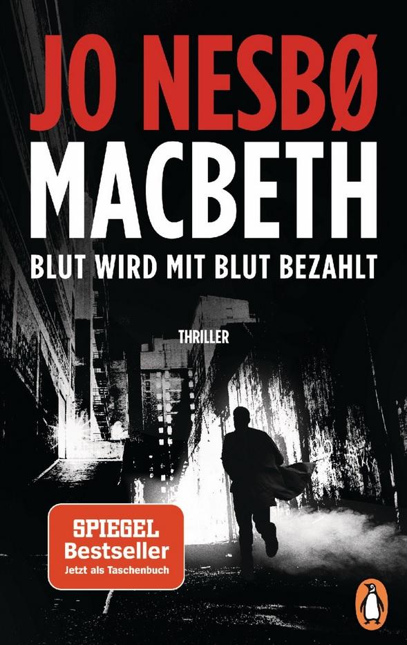 Jo Nesbo, Thriller, Mcbeth, Penguiun-Verlag, Shakespeare-Drama, Gewinnspiel, Buch