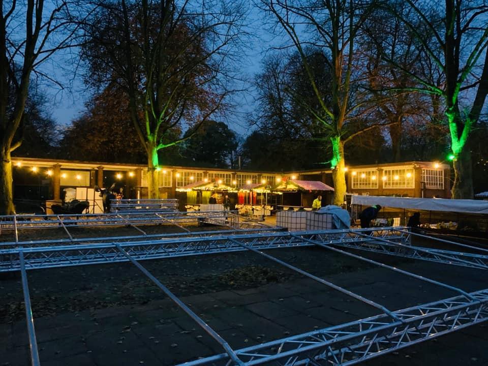 Sierichs Winterzauber, Weihnachtsmarkt, Stadtpark Hamburg, Weihnachten, Weihnachtsstimmung, Bühne, Bands, Unterhaltung, Essen, Trinken, Kinder, After-Work