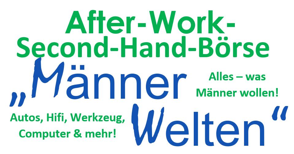 Männerwelten, Männer, Kerle, Flohmarkt, Second-Hand-Börse, Hamburg, Bergedorf, Veranstaltungstipp, Veronika Vogelsang