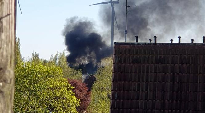 Feuer, Neuer Weg, Kleingartenverein, Kleingartenkolonie, Brandstiftung, Bergedorf-Süd, Nachrichten, news