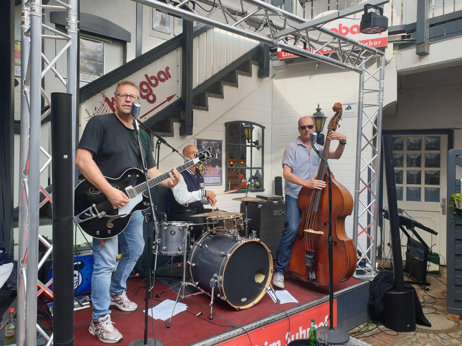 The Sinners, Rock am Bergedorfer Hafen, Tatenberger Bucht, Live-Konzert, Die Junx, Rock'n'Roll, Deutschpop, Schlager, Open Air, Nachrichten, Hamburg, Bergedorf, Wasserweg