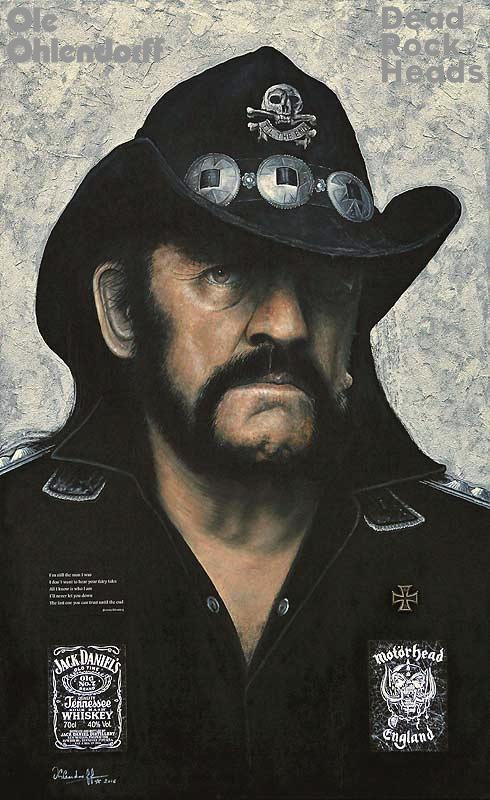 Ole Ohlendorff, Künstler, Maler, Rock-Legenden, Easy Rider, Dead Rock Heads, Ausstellung, Hamburg, News, Nachrichten