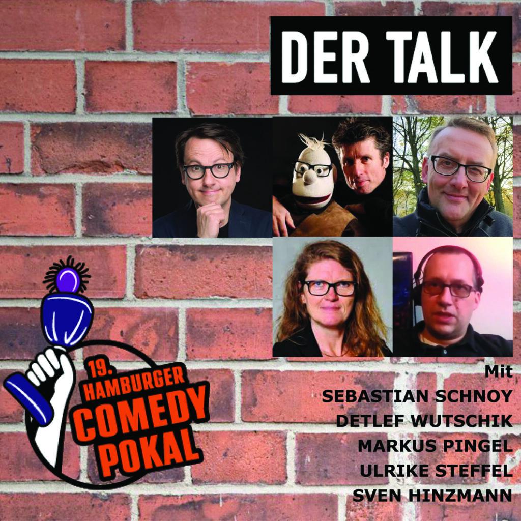 19. Hamburger Comedy Pokal, Talk, Künstler im Gespräch, Comedians, LOLA, Hamburg, Bergedorf, Kulturzentrum