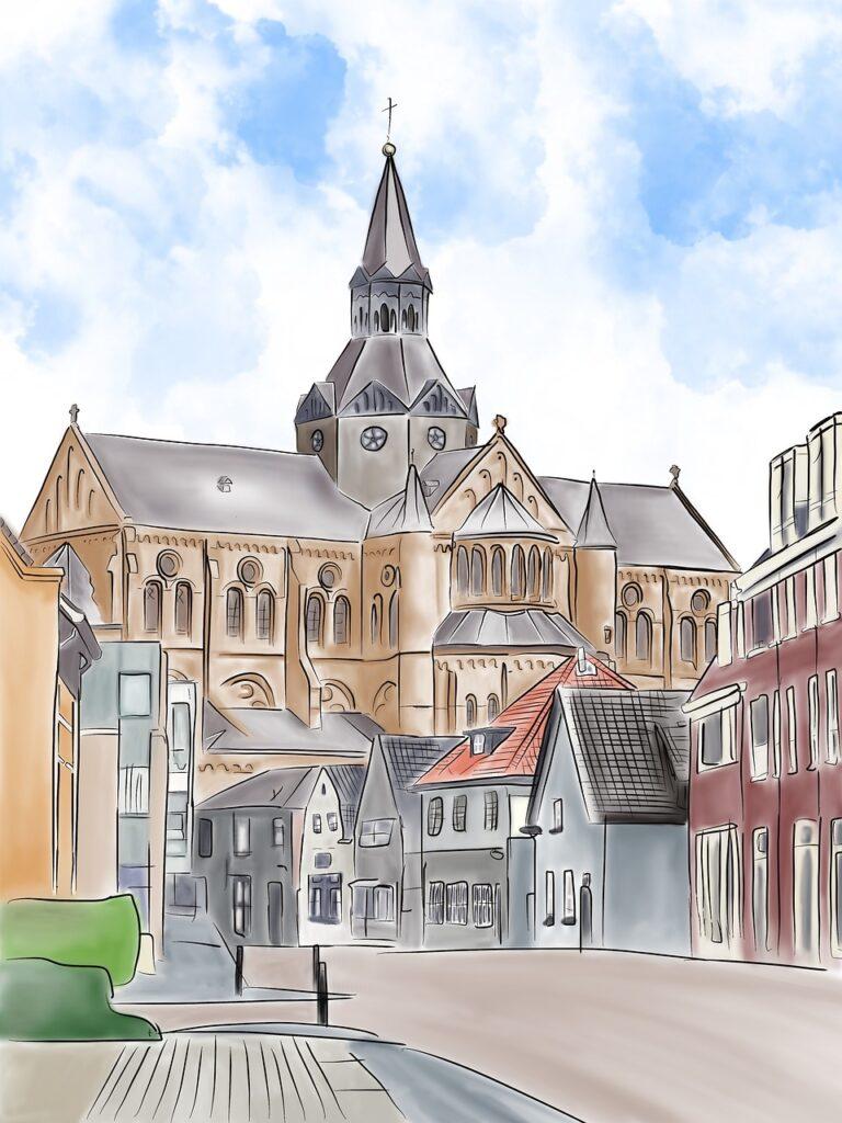 Walross, Engel, Skulpturen, Malen, öffentlicher Raum, Zeichnen, Stadtteilzeichner, Bergedorf, Hamburg, Andrea Purk