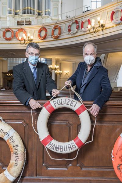 Rettungsring, Patenschaften, Michel, Hamburg, Marek Erhardt, Polizeipräsident Ralf Martin Meyer, news