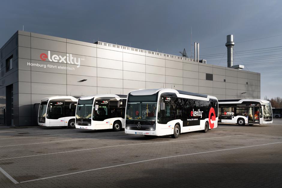 VHH, Elexity, e-citaros, Busse, Linienbetrieb, E-Solobusse, Verkehrsbetriebe Hamburg-Holstein GmbH (VHH), MAN, Volvo, Irizar, Zuschlag, News