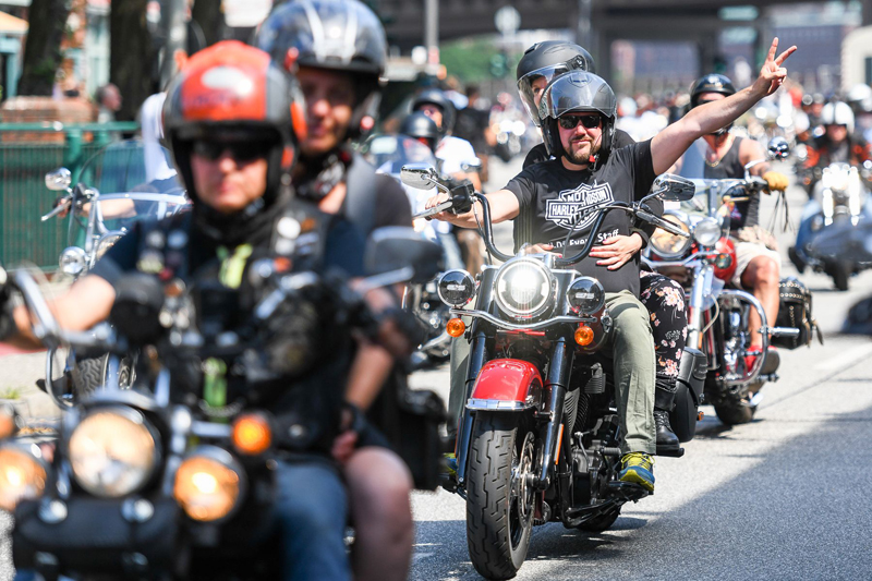 Bergedorf, Blog, Heidi vom Lande, Heidi vom Lande, Harley Days Hamburg 2021, Harley Davidson, Großneumarkt, Termin, August, Corona, Köhlbrandbrücke, Hamburg