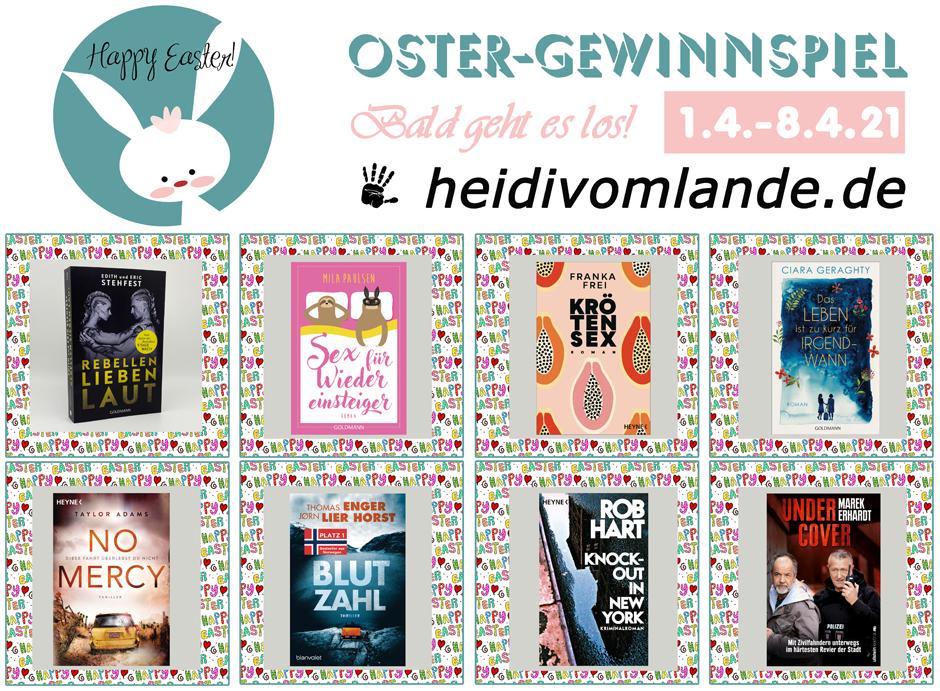 Rund ums Buch, Penguinrandomhouse, Randomhouse, Bloggerportal, Oster-Gewinnspiel, Bücher zu gewinnen, Thriller, Roman, Buchblogger