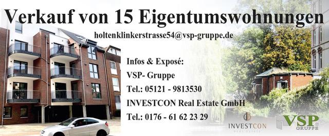 VSP Gruppe, Holtenklinker Str. 54, Bergedorf, Hamburg, Eigentumswohnungen, Verkauf, Nähe Fußgängerzone, provisionsfrei, Wohnen