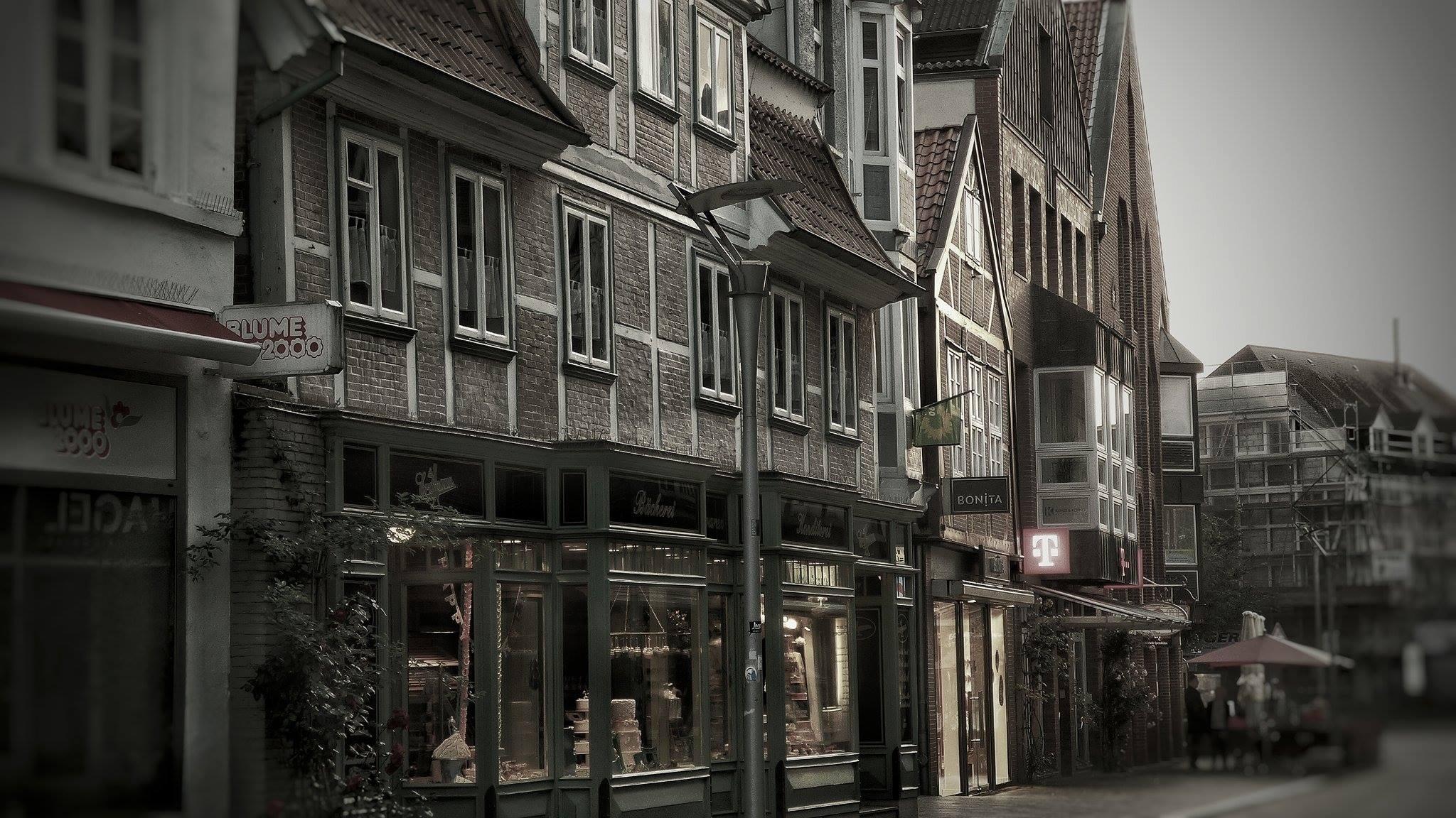 RISE-Fördergebiet, Sachsentor, Alte Holstenstraße, Fußgängerzone, Einkaufsstraße, Bergedorfer Zentrum, Hamburg, Lohbrügge, Neugestaltung, Meinung gefragt, City