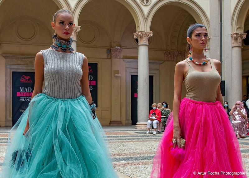 Fashion Week Mailand 2021, Mode, Mailänder Modewoche, Schönheit, Stars, Runway, Mad Mood, Haute Couture, House of Byfield, Carmichael of Byfield, Designer, Bekleidung, Laufsteg, Looks, Artur Rocha Fotograf