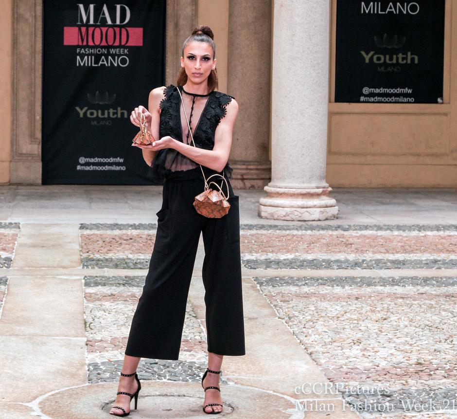 Fashion Week Mailand 2021, Mode, Mailänder Modewoche, Schönheit, Stars, Runway, Mad Mood, Haute Couture, House of Byfield, Carmichael of Byfield, Designer, Bekleidung, Laufsteg, Looks